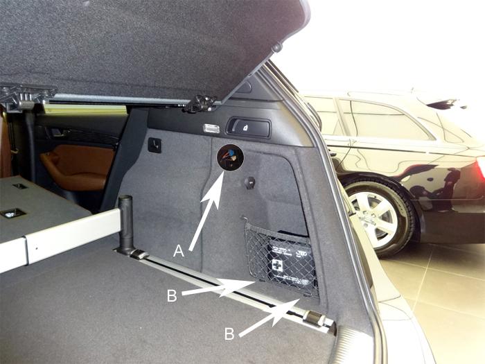 Audi-Q5-Einbauort-Empfaenger
