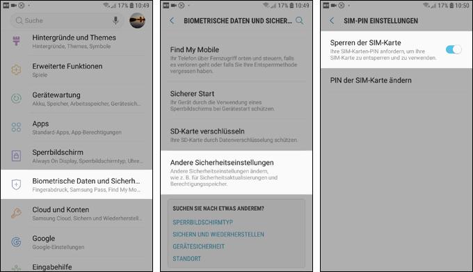 Screenshot_Pinabfrage_deaktivieren