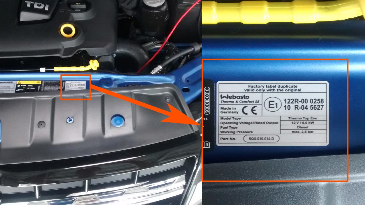 vw auxiliary heater retrofit