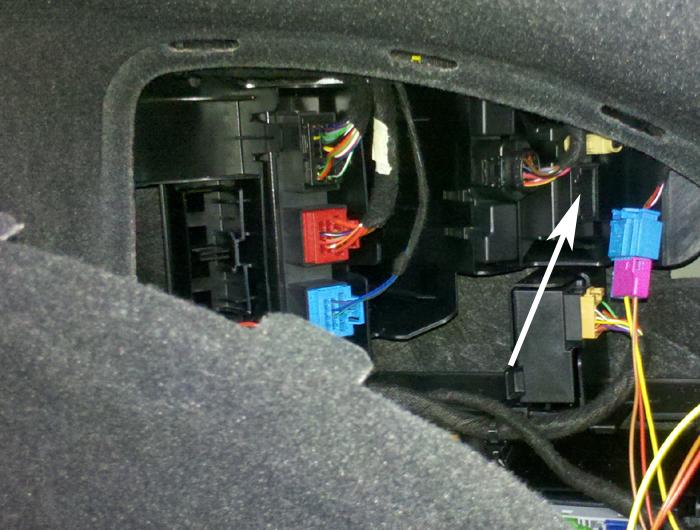 Audi-A7-Stecker-Empfaenger