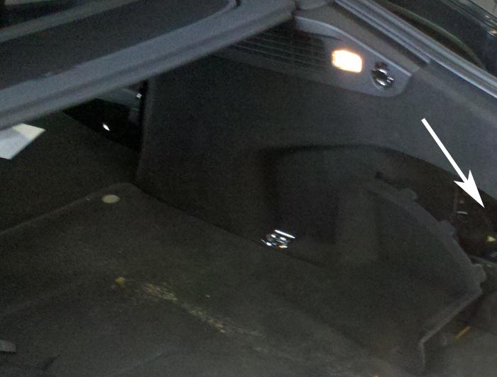 Audi-A7-Einbauort-Empfaenger