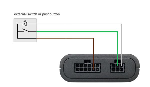 CAN-Gateway-T6-Anschluss-Taster
