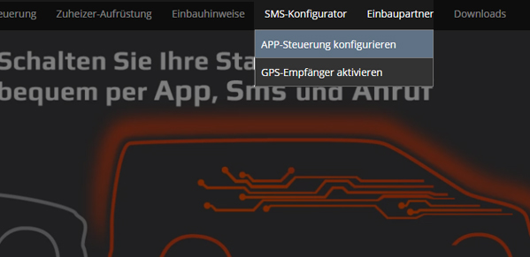 Screenshop_APP-Steuerung_konfigurieren